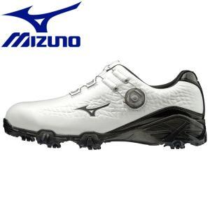 ミズノ ジェネム009ボア EEE ゴルフシューズ メンズ 51GM190009|g-zone
