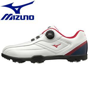 ミズノ ライトスタイル003ボア EEE ゴルフシューズ メンズ 51GM196014|g-zone
