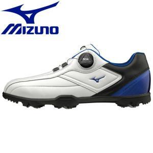 ミズノ ライトスタイル003ボア EEE ゴルフシューズ メンズ 51GM196022|g-zone