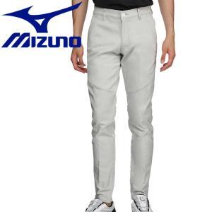 ミズノ ゴルフ 綿混ストレッチムーブ ロングパンツ メンズ 52MF800003|g-zone