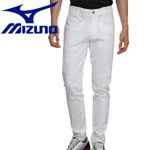 ミズノ ゴルフ シャンブレームーブ ロングパンツ メンズ 52MF900301|g-zone