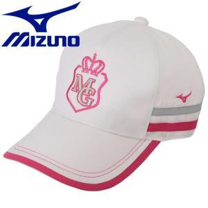 ミズノ ゴルフ キャップ レディース 52MW820176 g-zone