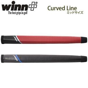 winn ウィン Curved Line カーブドライン パターグリップ ミッドサイズ 68CL 【納期:約2週間】|g-zone