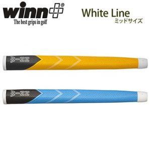 winn ウィン White Line ホワイトライン パターグリップ ミッドサイズ 68WL 【納期:約2週間】|g-zone