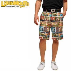 ラウドマウス ゴルフ メンズハーフパンツ ショートパンツ BeerThirty スリムフィット USAモデル 726-153-057|g-zone