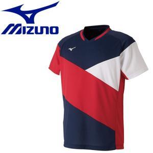 ミズノ テニス ドライサイエンスゲームシャツ メンズ レディース 72MA901114|g-zone