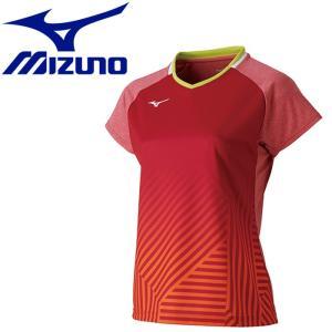 ミズノ テニス ゲームシャツ レディース 72MA920265|g-zone