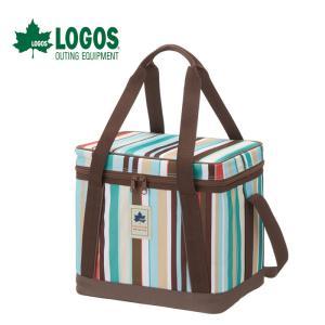 ロゴス LOGOS デザインクーラー15(ブルーストライプ) 81670715|g-zone