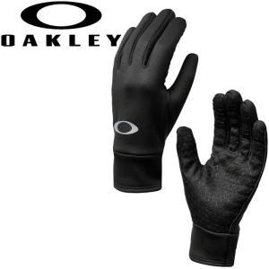 メール便対応 オークリー ゴルフ フリースグローブ OAKLEY FLEECE GLOVE 手袋 94317 18FW|g-zone