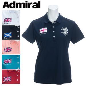 アドミラル フラッグ ポロシャツ レディース ゴルフウェア 春夏 ADLA026