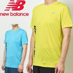 ニューバランス NB Hanzo プリントショートスリーブTシャツ メンズ AMT93181|g-zone