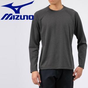 ミズノ アウトドア ブレスサーモ ライトインナークルーネックシャツ メンズ B2MA953708|g-zone