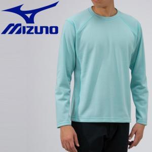 ミズノ アウトドア ブレスサーモ ライトインナークルーネックシャツ メンズ B2MA953719|g-zone