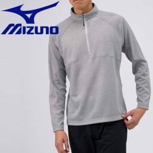 ミズノ アウトドア ブレスサーモ ライトインナージップネックシャツ メンズ B2MA956605|g-zone