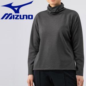 ミズノ アウトドア ブレスサーモ ライトインナーオフタートルシャツ レディース B2MA973708|g-zone