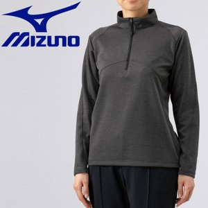 ミズノ アウトドア ブレスサーモ ライトインナージップシャツ レディース B2MA976608|g-zone