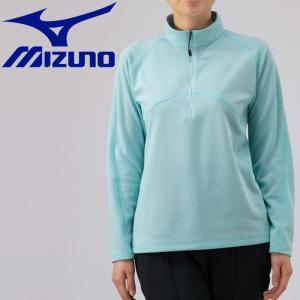 ミズノ アウトドア ブレスサーモ ライトインナージップシャツ レディース B2MA976619|g-zone