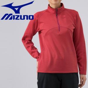 ミズノ アウトドア ブレスサーモ ライトインナージップシャツ レディース B2MA976662|g-zone