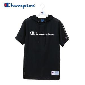 チャンピオン Tシャツ メッシュパーカー バスケットボール メンズ C3-PB346-090 19SS|g-zone