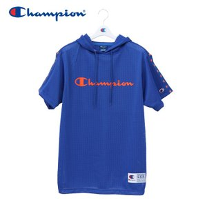 チャンピオン Tシャツ メッシュパーカー バスケットボール メンズ C3-PB346-340 19SS|g-zone