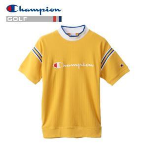 チャンピオン ゴルフウェア モックネック 半袖Tシャツ C3-PG301-750 メンズ 2019春夏|g-zone