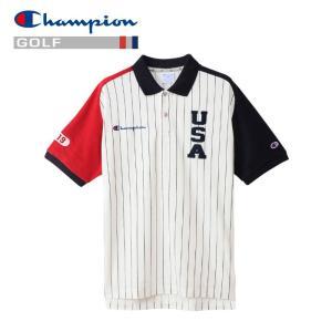 チャンピオン ゴルフウェア ポロシャツ C3-PG316-34T メンズ 2019春夏|g-zone