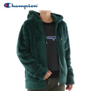 チャンピオン フリースジャケット ジップフード レディース CW-L604-560|g-zone