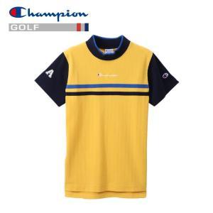 チャンピオン ゴルフウェア モックネック 半袖Tシャツ CW-PG301-750 レディース 2019春夏|g-zone