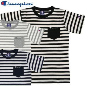 チャンピオン 半袖ポケットツキTシャツ CX7145 ジュニア キッズ ボーイズ 2019年春夏|g-zone