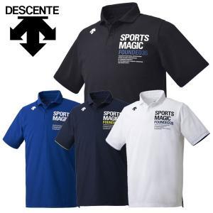 デサント ポロシャツ メンズ レディース DVUNJA70|g-zone