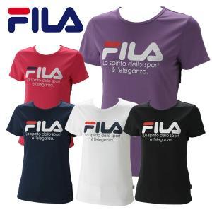 フィラ プリントTシャツ レディース FL9839|g-zone