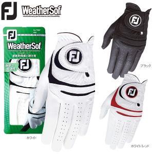 メール便対応 フットジョイ ゴルフグローブ メンズ ウェザーソフ WeatherSof FGWF15 2015 FOOTJOY|g-zone