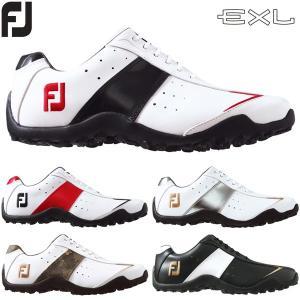 フットジョイ ゴルフシューズ メンズ スパイクレス イーエックスエル EXL Spikeless|g-zone