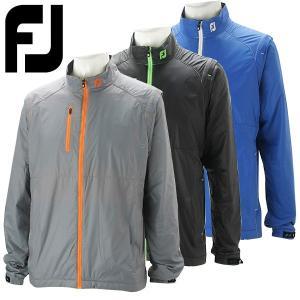 フットジョイ ゴルフウェア メンズ サーマルフリースジャケット 長袖 FJ-F16-O53 2016秋冬|g-zone