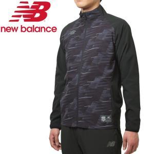 ○19FW New Balance(ニューバランス)  ハイブリッドウインドジャケット  JMJF9450-BK メンズ|g-zone