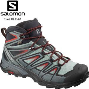 サロモン X ULTRA 3 MID GORE-TEX トレッキングシューズ メンズ L40662000|g-zone