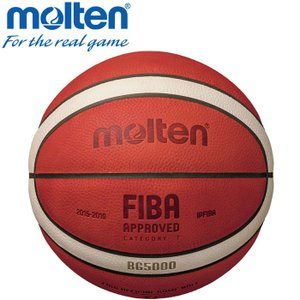 FIBA(国際バスケットボール連盟)主催国際大会の新公式試合球。吸水性能が高い天然皮革を採用しボール...