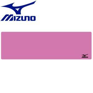 ミズノ 水泳 スイム 吸水速乾タオル 薄型 横長 21×69cm N2JY501168