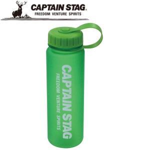 キャプテンスタッグ ウォーターボトル500 グリーン 水筒 UE3260