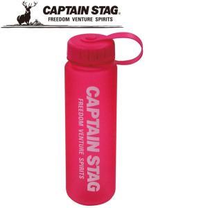 キャプテンスタッグ ウォーターボトル500 ピンク 水筒 UE3261