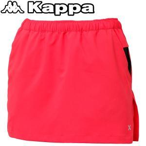 カッパ ランニング スカート レディース KM562SK61-RD