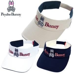 サイコバニー ゴルフ メンズ バイザー PHMG702F Psycho Bunny|g-zone