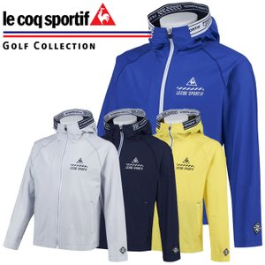 ルコックゴルフ メッシュエンボスライトパーカー メンズ 春夏 ゴルフウェア QGMPJL51
