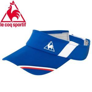 ルコック テニス メンズ サンバイザー QTALJC01-SBL
