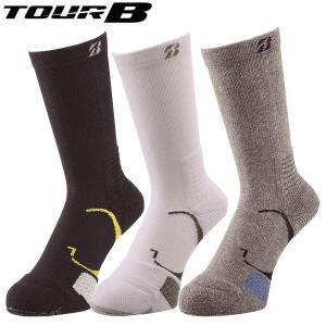 TOUR B ゴルフ メンズ ソックス SOG813 2019年継続モデル|g-zone