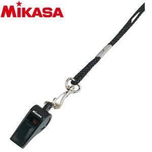 ミカサ バレーボール ホイッスルプラエコー笛 WH-2-BK 9090010