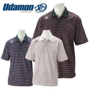 ユダマン メンズ ゴルフウェア 半袖ポロシャツ XUD-1800 春夏|g-zone