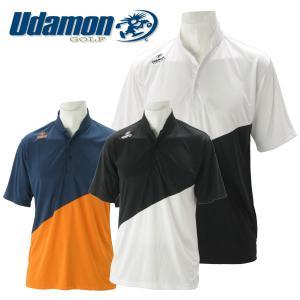 ユダマン メンズ ゴルフウェア 半袖ポロシャツ XUD-1801 春夏|g-zone