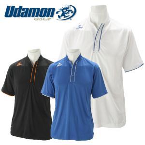 ユダマン メンズ ゴルフウェア 半袖ポロシャツ XUD-1802 春夏|g-zone