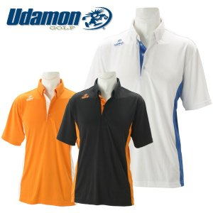 ユダマン メンズ ゴルフウェア 半袖ポロシャツ XUD-1803 春夏|g-zone
